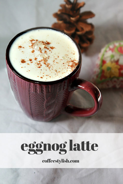 How to Make an Eggnog Latte at Home