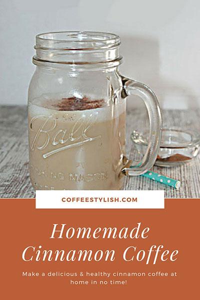 how to make cinnamon coffee