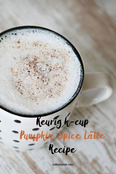 pumpkin spice latte keurig
