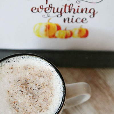 how to make pumpkin spice latte with keurig