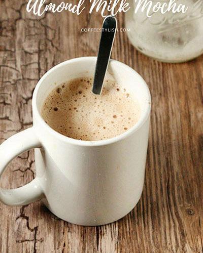 ALMOND MILK MOCHA (Paleo, Gluten-Free, Dairy-Free)