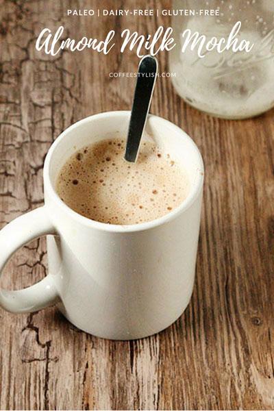 almond milk mocha