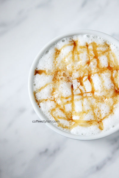 how to make caramel macchiato