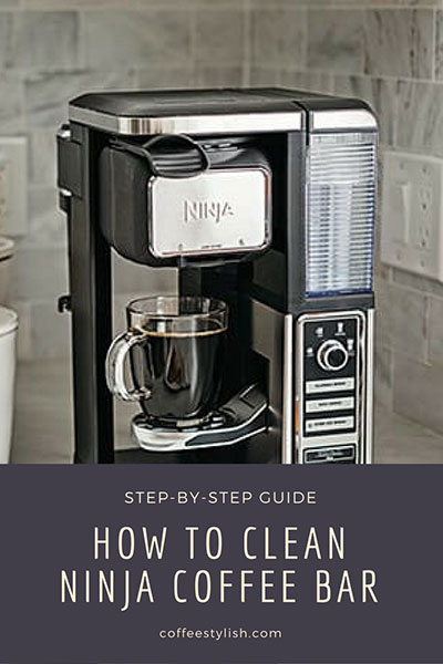 how to clean ninja coffee maker
