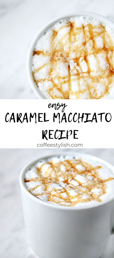 how to make a caramel macchiato