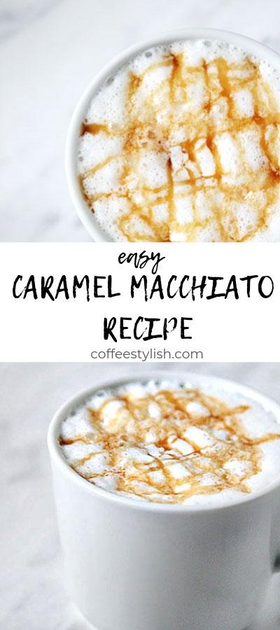how to make a caramel macchiato
