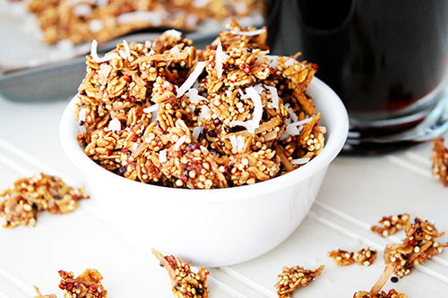 coffee granola recipes