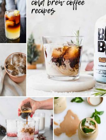 recipes with cold brew coffee