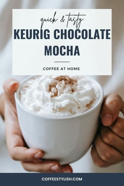 how to make a mocha with keurig